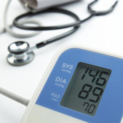 erhöhter Blutdruck
