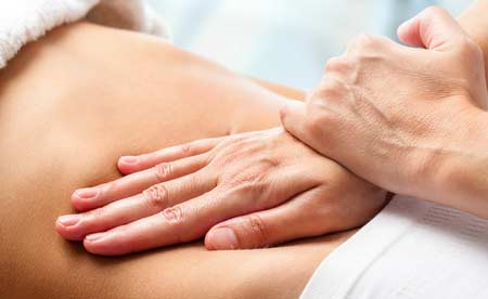 Osteopathische Behandlung